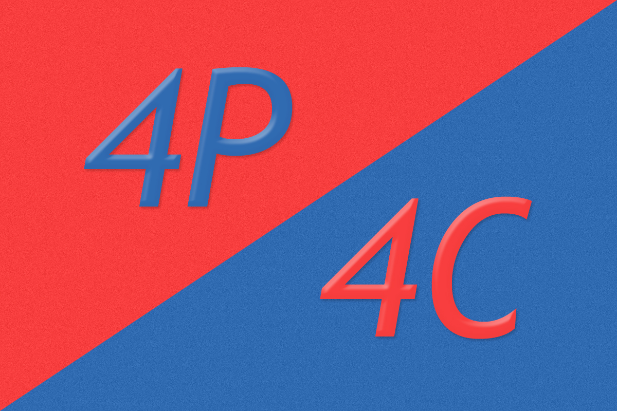 マーケティングミックスの代表的な理論!4Pと4Cとは?