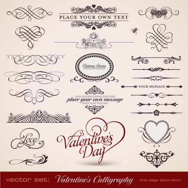 Vallentine's Calligraphy