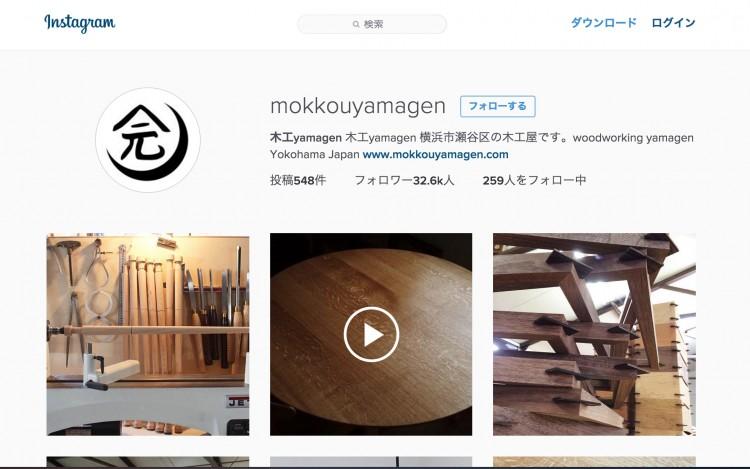 木工yamagen Instagram