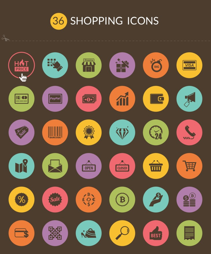 36 Free Shopping icons