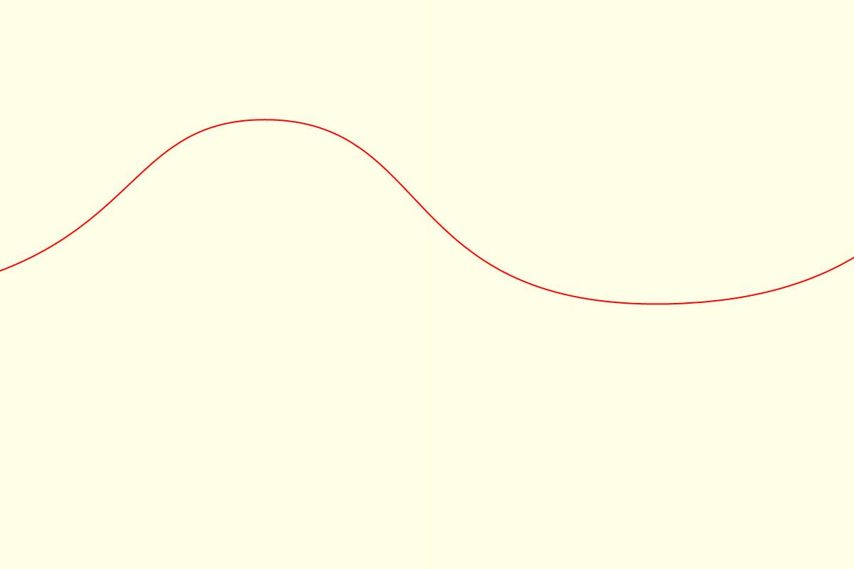 アルファベット構図の例