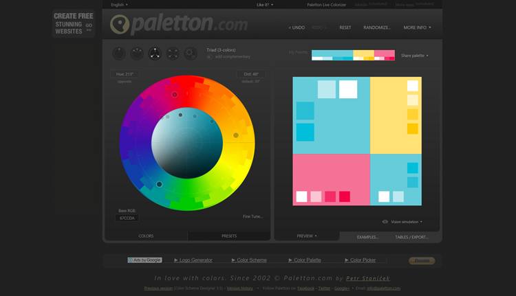 Color Scheme Designer3