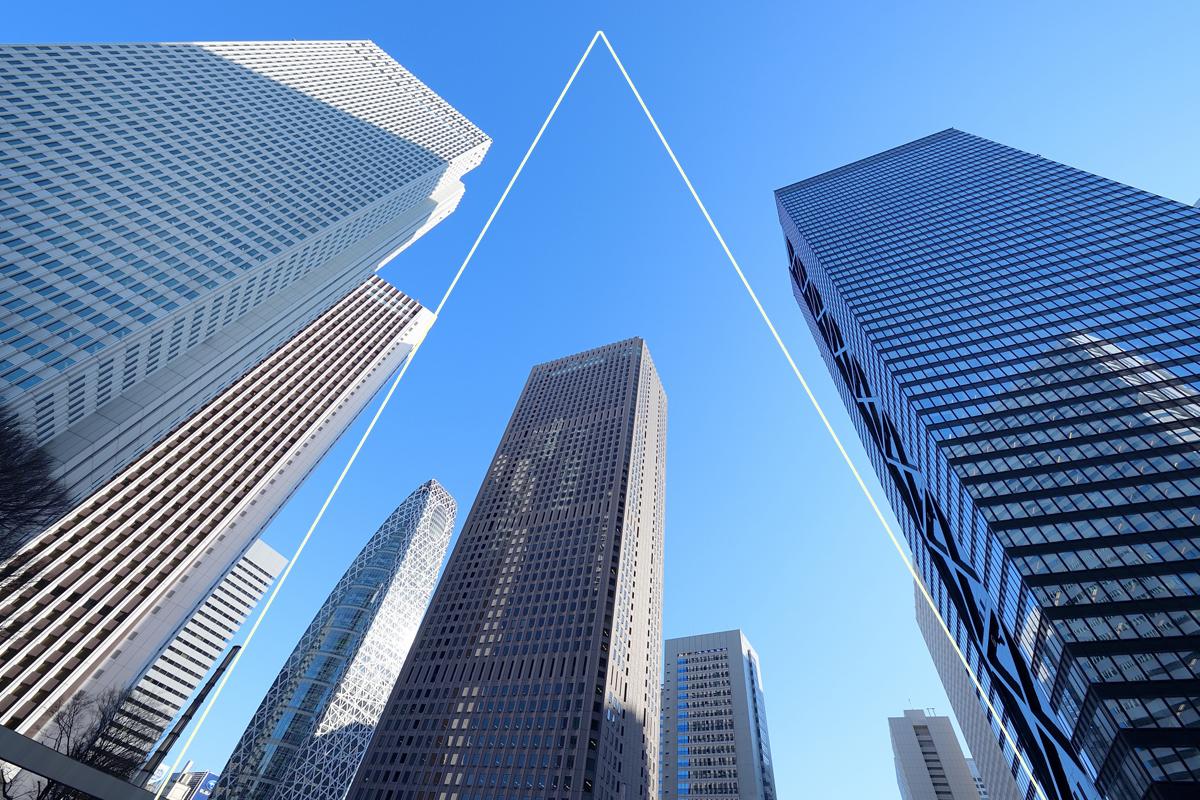 三角構図の例